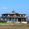 A west Galveston house on high stilts