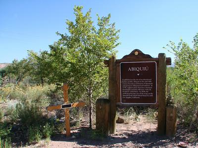 Abiquiu, New Mexico 2010 August