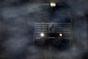 Norfolk Southern Locomotive, twilight mist