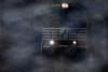 Norfolk Southern Locomotive, twilight mist