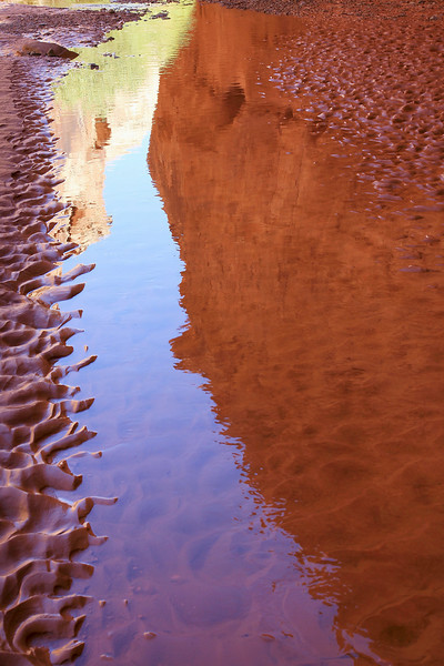 Horseshoe Canyon Reflections