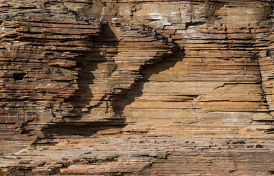 Rock formation - Marble Canyon - Kootenay National Park (August 2012)