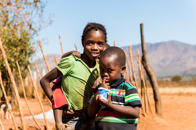 Local village kids