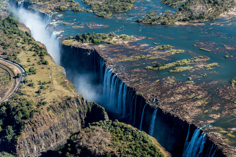 Helicopter ride over Victoria Falls- 2