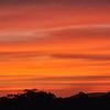 Another sunset near Lubango, Angola.
