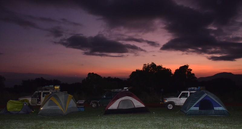Dawn Over Simba Camp