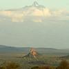 Mount Kenya as seen from Mpala Research Center, Laikipia district, Kenya