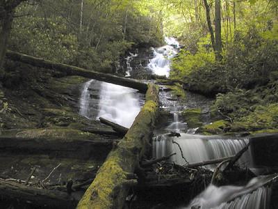 Alarka Falls 2 <br /> June 5, 2007<br /> NC
