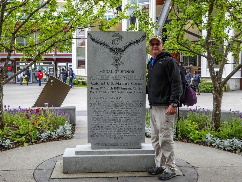 Alaska Juneau Archie Van Winkle Memorial 6-26-16P1010229