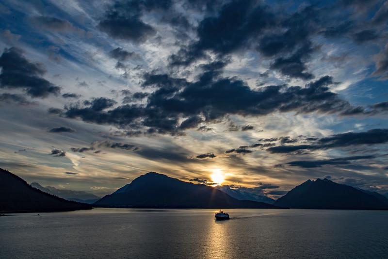 Alaska State Ferry Sunset 6-27-16_MG_9718