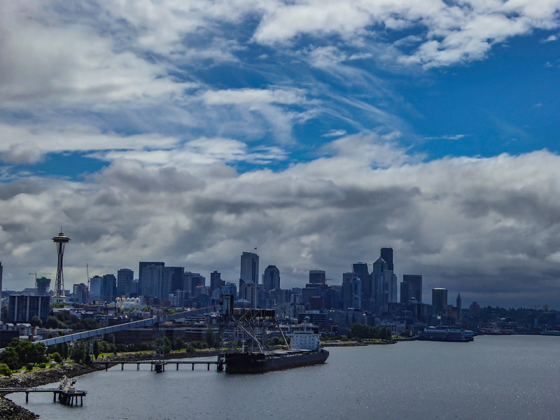 Alaska cruise Seattle skyline 6-24-16_P1010140