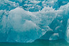 Blue Deep Iceberg<br /> Blue Deep Iceberg Closeup, North Sawyer Glacier, Tracy Arm Fjord, Alaska