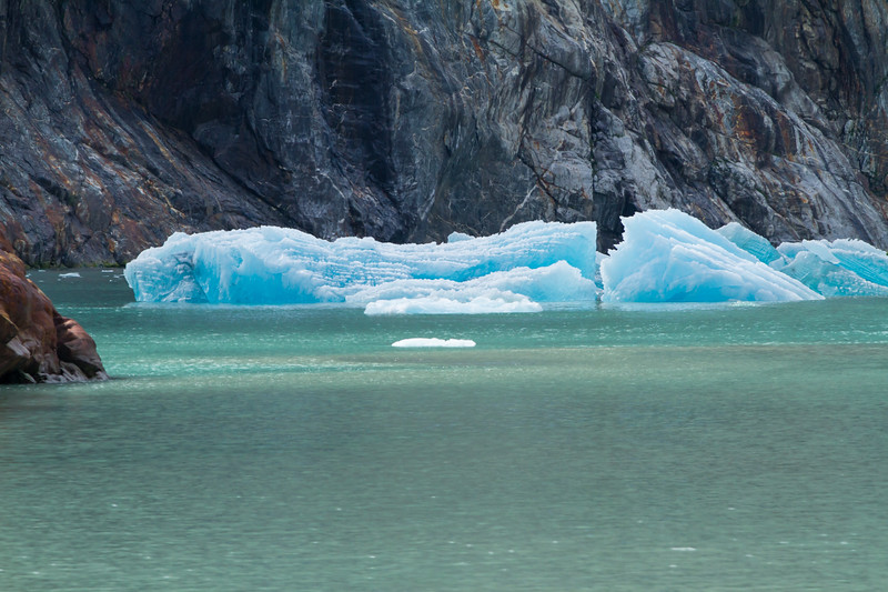 Blue Deep Iceberg<br /> Blue Deep Iceberg, North Sawyer Glacier, Tracy Arm Fjord, Alaska