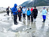 Slippery Ice<br /> Baird Glacier, Alaskan Wilderness Adventure Cruise