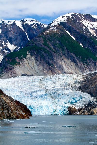 North Sawyer Glacier <br /> tracy Arm Fjord Ice Dancers, North Sawyer Glacier, Alaska