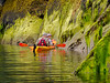 Yes Bay Kayaking Low Tide<br /> Kayaking in Yes Bay, Misty Fjords National Monument, 50 miles north of Ketchikan, Tongass National Forest, Alaska