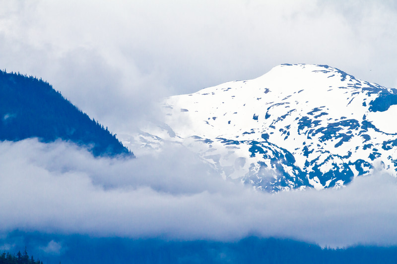 White on White<br /> Frederick Sound, Alaska Wilderness Adventure Cruise