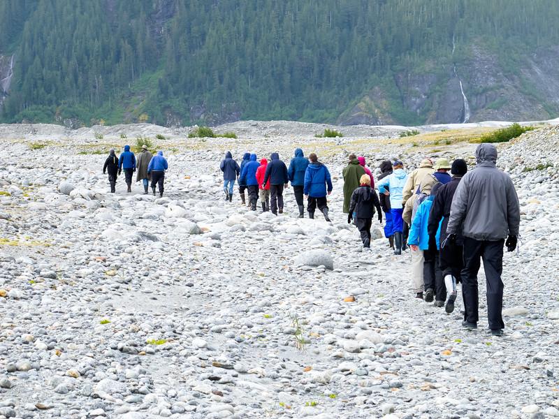 Baird Glacier Hike<br /> Baird Glacier, Alaskan Wilderness Adventure Cruise