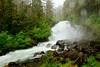 Cascade Falls<br /> Thomas Bay, Alaskan Wilderness Adventure Cruise