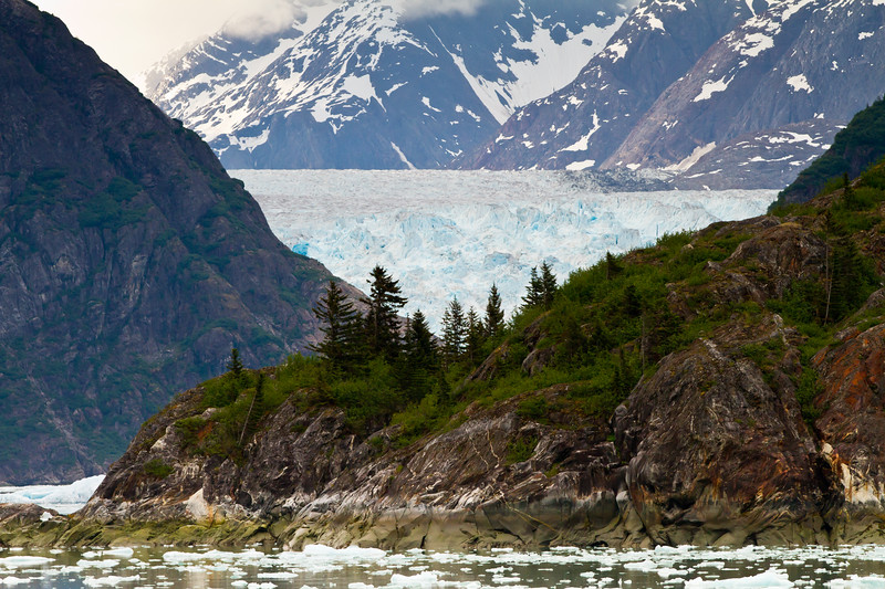 North Sawyer Glacier <br /> North Sawyer Glacier, Tracy Arm Fjord, Alaska