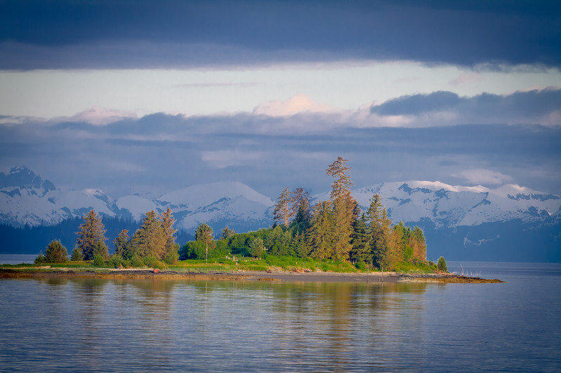 Cemetery Island, between Kake and Juneau, Alaska