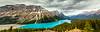 Peyto Lake Panorama<br /> Peyto Lake Panorama, Banff National Park, Alberta, Canada