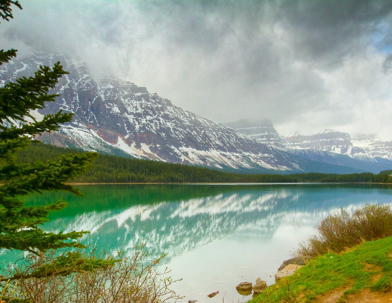 Lower Waterfowl Lake<br /> Lower Waterfowl Lake, Banff National Park, Alberta, Canada