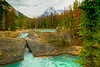Kicking Horse River Natural Bridge<br /> Natural Bridge, Kicking Horse River, Yoho National Park, British Columbia, Canada