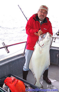 Another smaller Halibut..