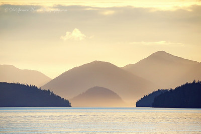 Sunset picture from our hotel on the water in Wrangell Alaska. It was a small but lovely little town in a beautiful part of south eastern Alaska.
