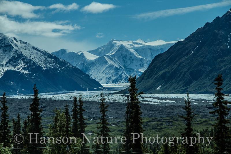 Matanuska Glacier; Glenn Highway, Alaska