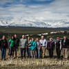 TOS Birding Group - Old Denali Hwy, Ak<br /> L>R Beth, Rachel, Bryan, David, Betty, Deb, Jan, Tillman, Margy, Judy, Jack
