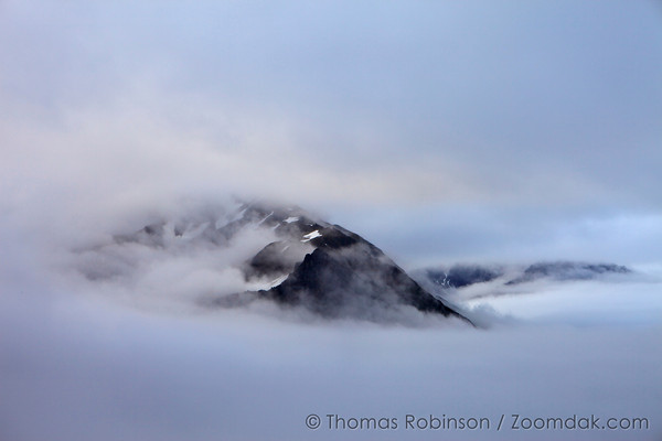 Mountains Above the Clouds, Alaska