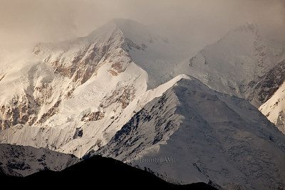 Stormy weather on mountain peaks, Denali National Park MG_9246