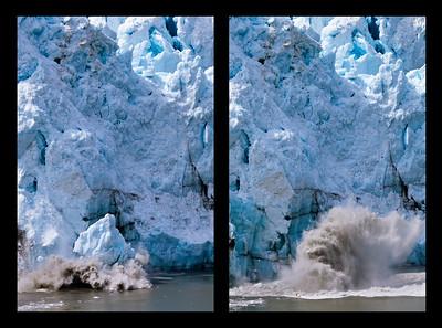 Glacier Bay Calving