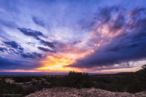 Sunset Albuquerque, NM 20120410