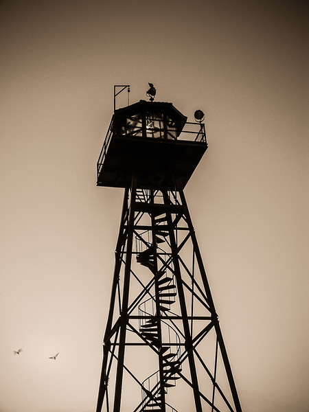 Alcatraz Watch Tower