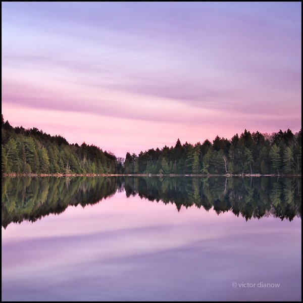 <h3>Found Lake, Algonquin Ont.</h3> <h5>Canon40D, Sigma 28-70 at 28mm, Lee 0.6&0.3 hard grad, Sing Ray LB polarizer,<br> 2.5s at f/10.0</h5>
