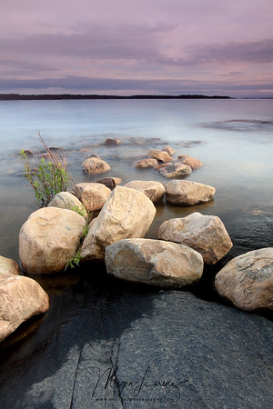 View of Georgian Bay from Killbear Provincial Park in Ontario, Canada