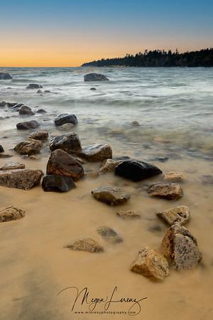 Lake Superior Provincial Park Landscape.