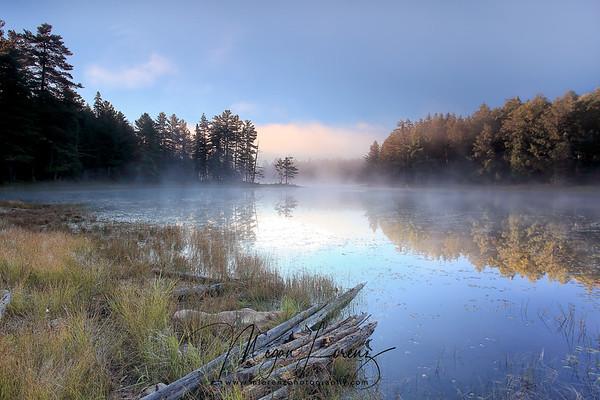 Portage in Algonquin Provincial Park along Hwy. 60