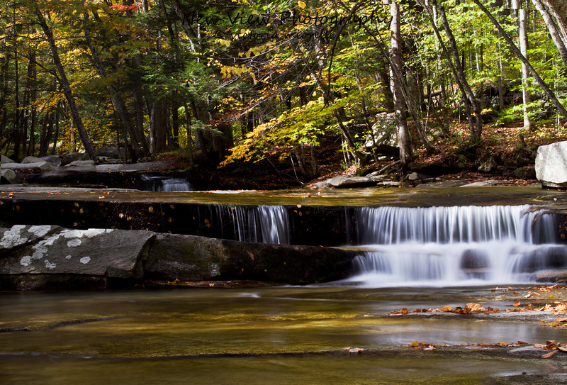 Jelly Mill Falls in Autumn.