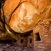 Fallen Roof House -- an Ancient Puebloan (Anasazi) ruin (vertical)