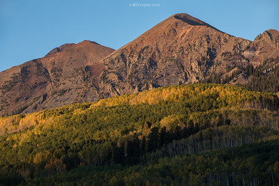 Aspens and Mountains