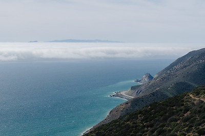 Point Mugu with fog