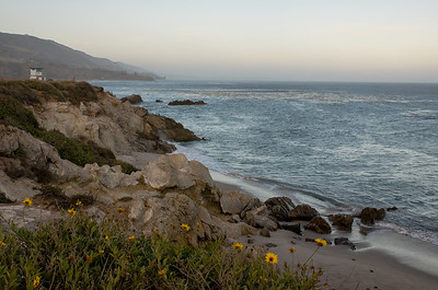 Along the Malibu coast