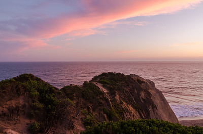 Looking off the coast of Point Dume, Malibu, CA