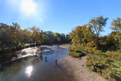 Salmon Fishing In The Humber River