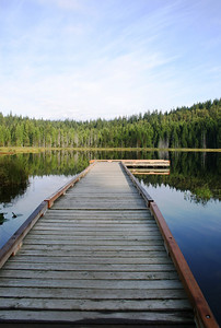Wharf at Mike Lake