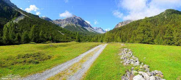 South west of Val Müstair, Graubünden